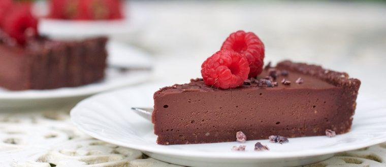 טארט פטל שוקולד
