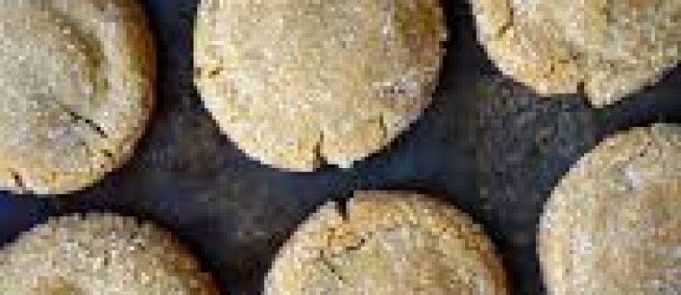 עוגיות ג'ינג'ר קוקוס ללא אפייה