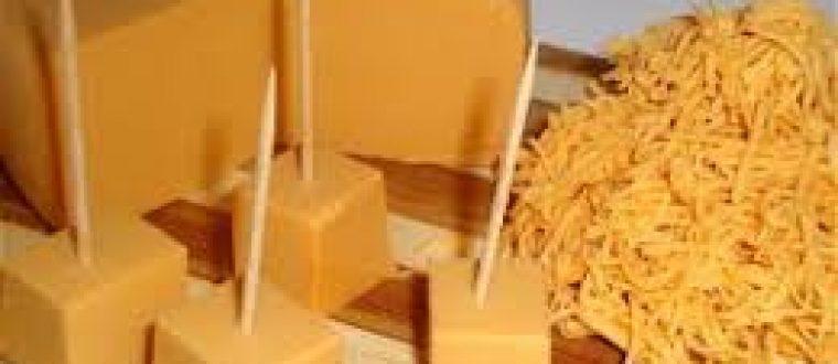 גבינת צ'דר מקמח חומוס