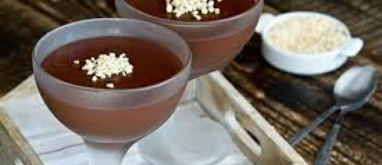 מעדן פודינג שוקולד
