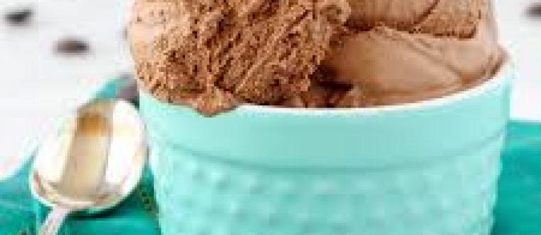גלידת שוקולד עשירה